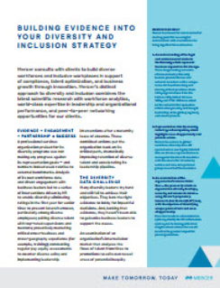 Brochure diversity and inclusion strategy